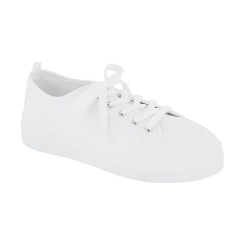 Kmart Canvas Flatform Sneakers