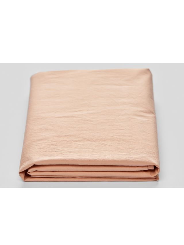 In Bed Washed Cotton Fitted Sheets