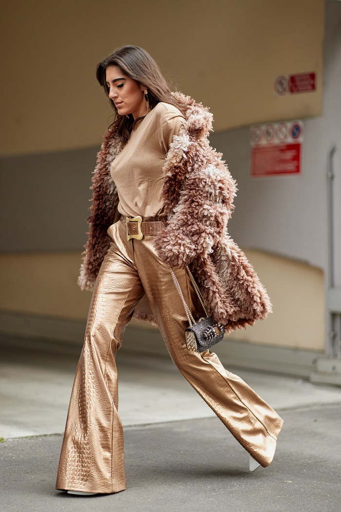 The Latest Street Style From Milan Fashion Week Fall 2018