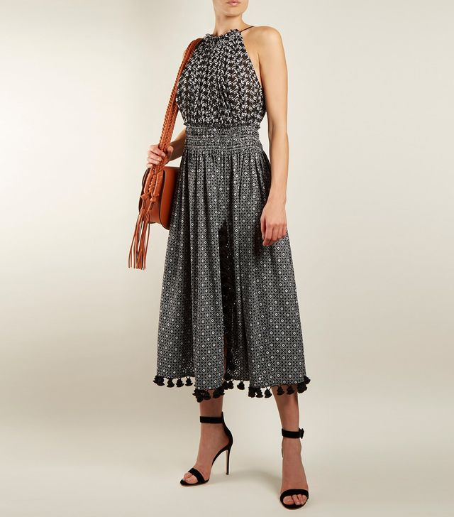 Altuzarra Vivienne Broderie-Anglaise Gathered Dress