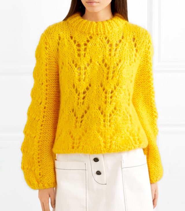 Julliard Mohair And Wool-blend Sweater