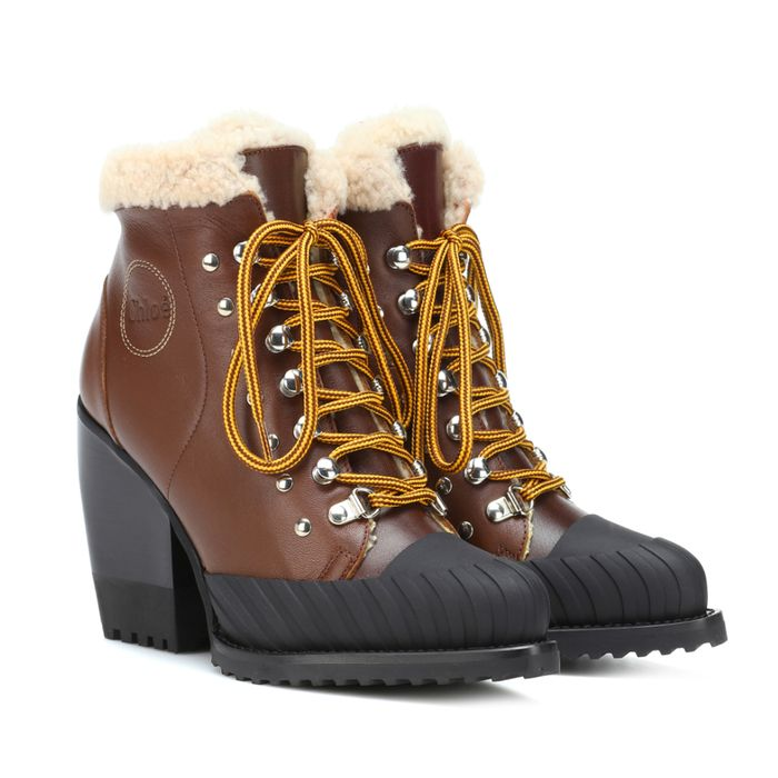 39784c765315 Everyone Is Wearing Chloé s Rylee Boots Right Now