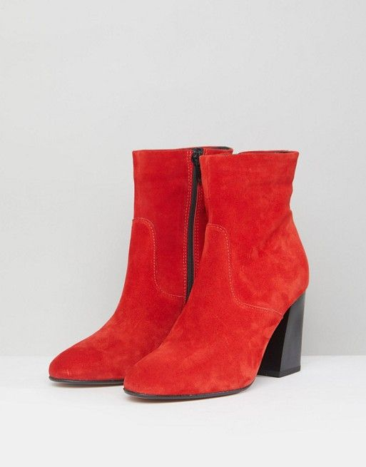 EMSEY Suede Ankle Boots