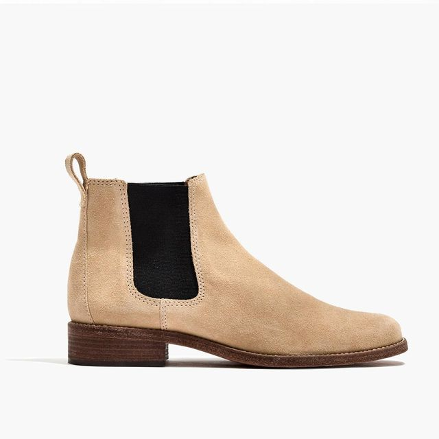 The Ainsley Chelsea Boot in Suede