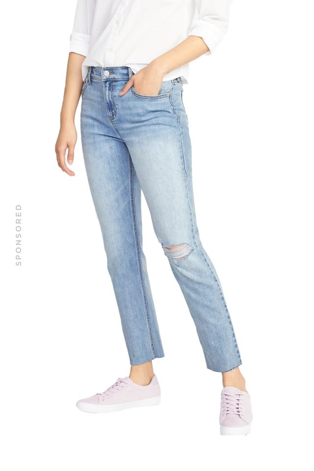 Old Navy The Power Jean, A.K.A. The Perfect Straight Jeans