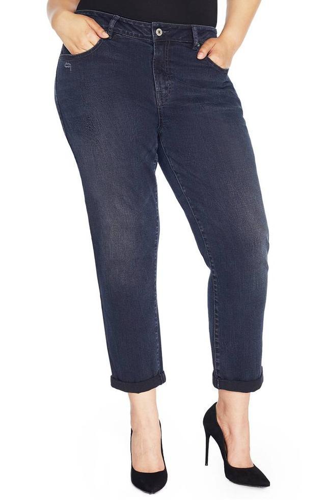 The Ryot Slim Boyfriend Jeans