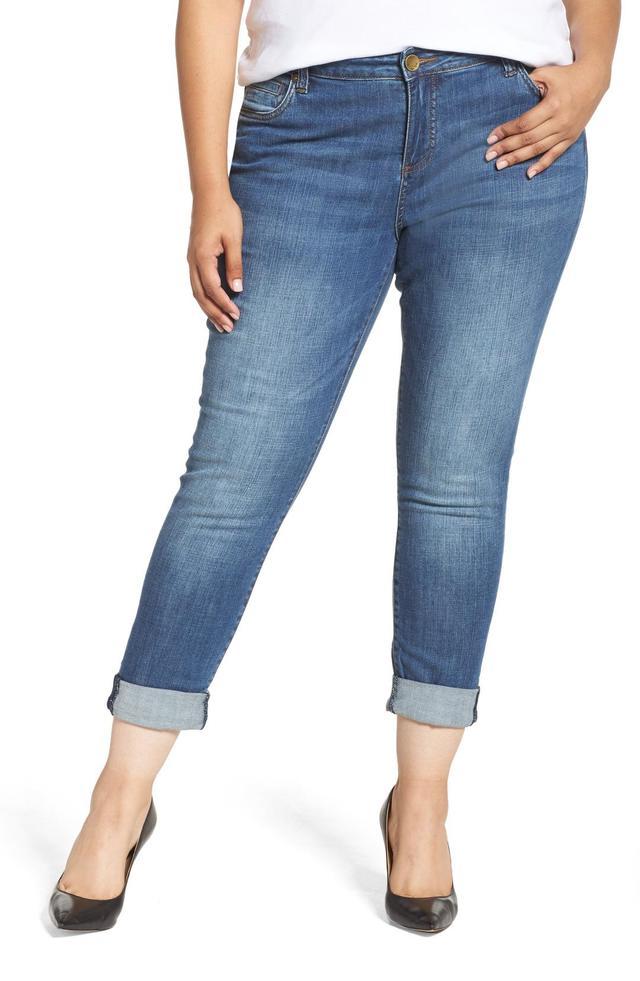 Plus Size Women's Kut From The Kloth Catherine Boyfriend Jeans
