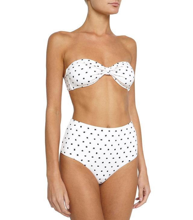 Eberjey Polka Lulu Bikini Top and Dita Bikini Bottoms