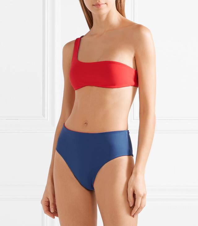 The Isabeli Reversible One-shoulder Bikini