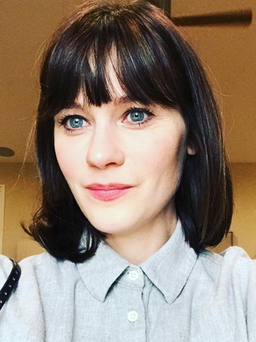 foto Laura Jacksons New Fringe Is the Haircut of Fall 2019
