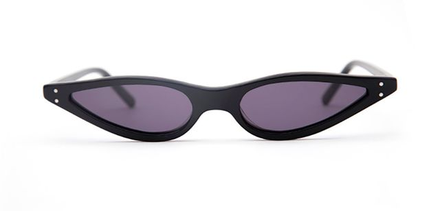 George Keburia Black Sunglasses