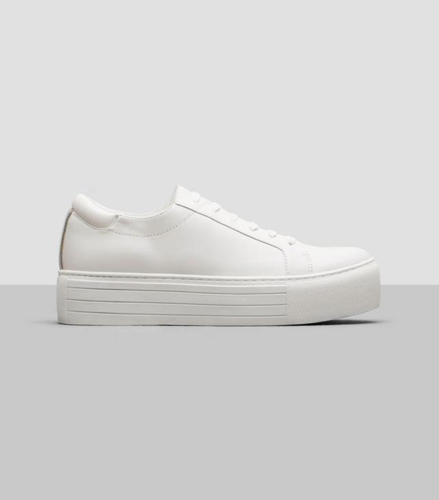 Kenneth Cole Abbey Platform Leather Sneaker