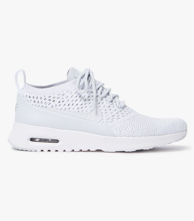 Air Max Thea Ultra Flyknit in Pure Platinum/White