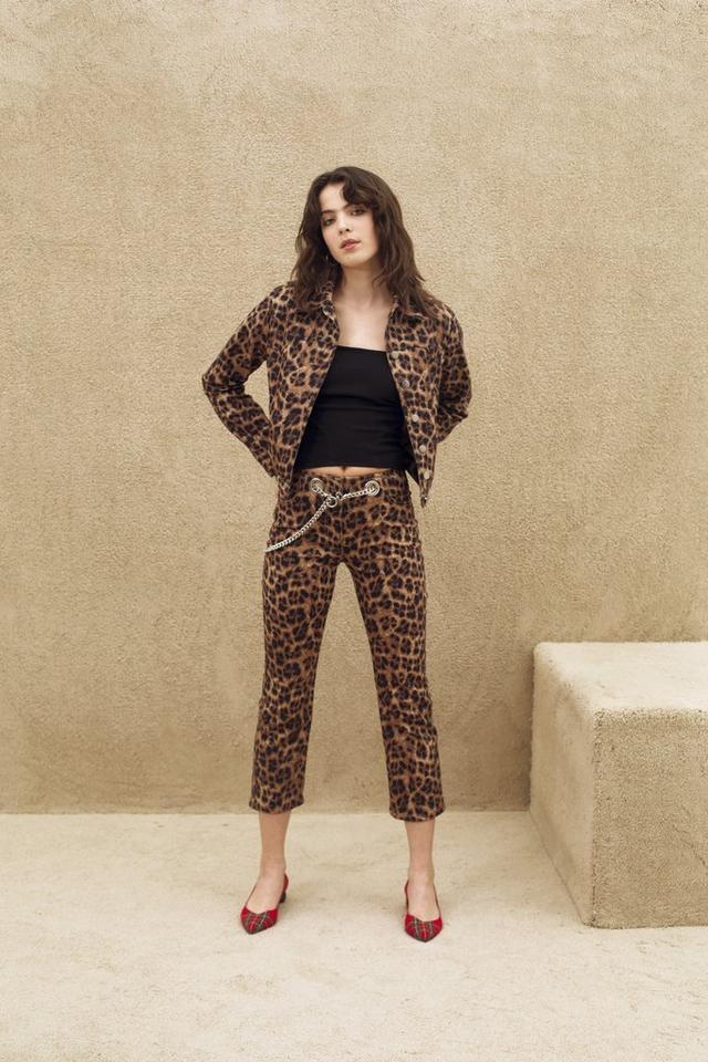 Miaou Lex Jacket in Leopard