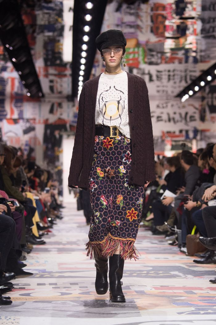 f42e3d4244498 Dior Runway Fall/Winter 2018 Review   Who What Wear
