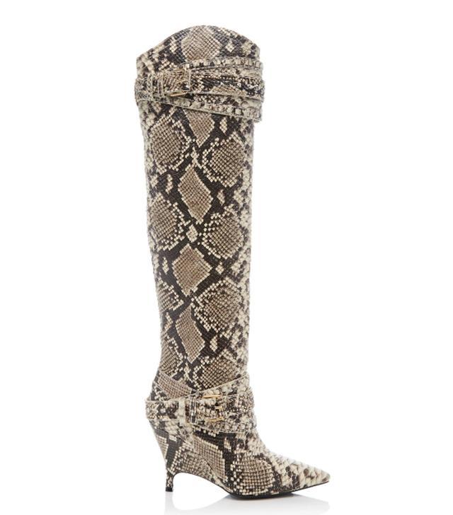 Zimmermann Snake Slouch Knee Boot