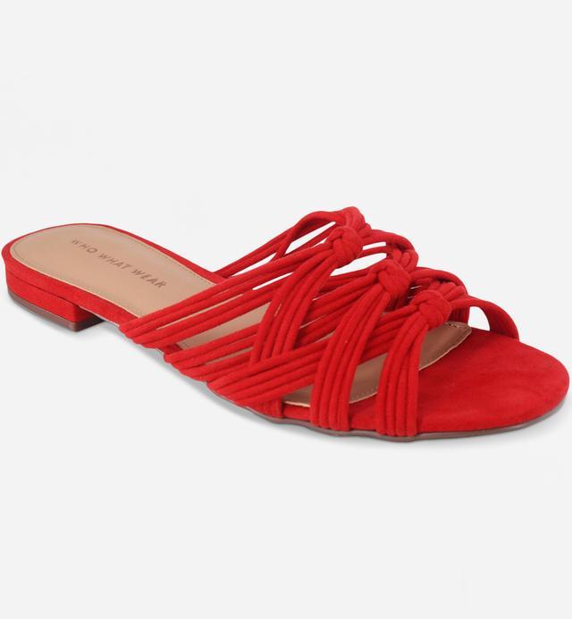 Finley Knotted Slide Sandal