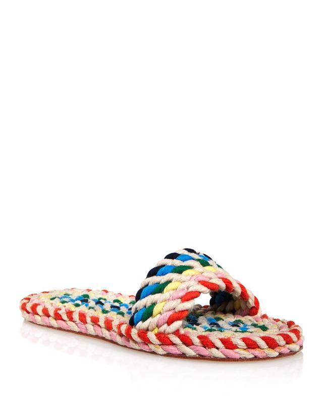 Women's Elle Woven Rainbow Slide Sandals