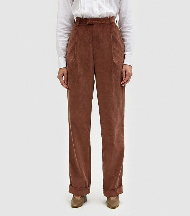Carrot Pant in Taupe
