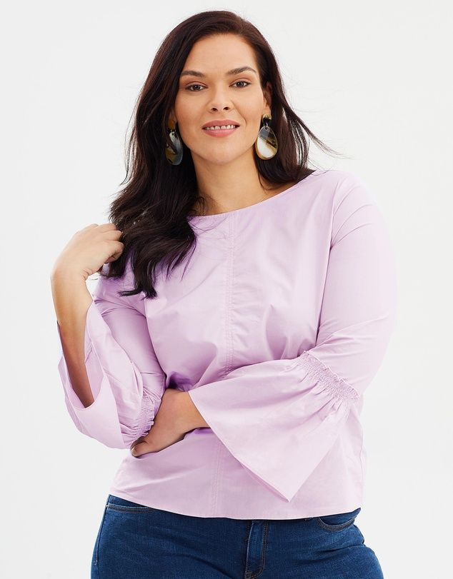 Violeta By MNG Basic Blouse