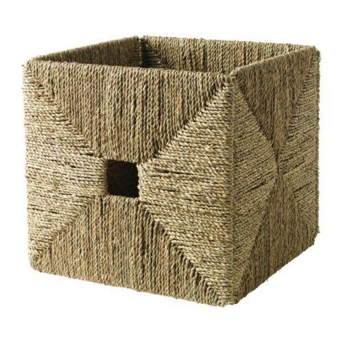 IKEA Knsipsa Seagrass Bucket