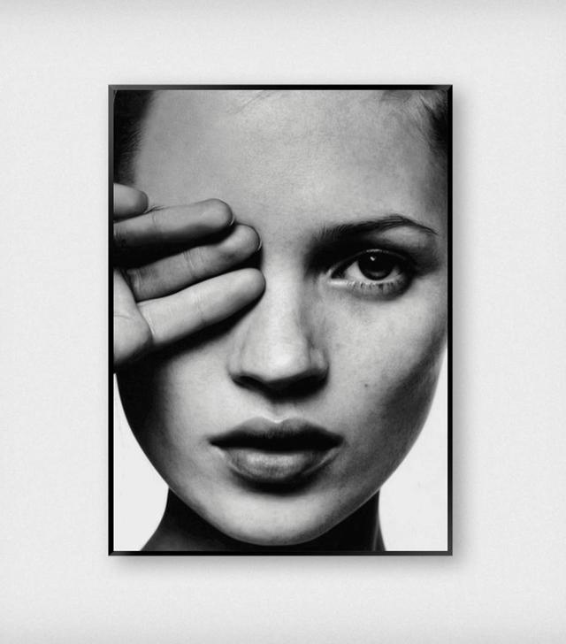 SlayMyPrint Kate Moss Close Up Print