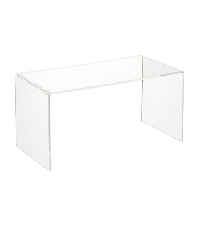 The Container Store Acrylic Riser