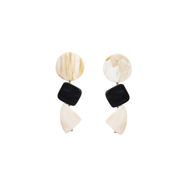 Mercantilia Trio Geo Earrings