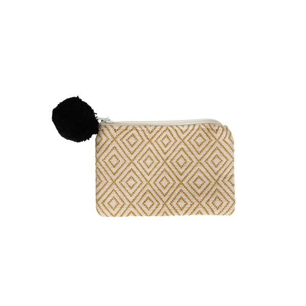 Pixan Gold Trim Coin Purse