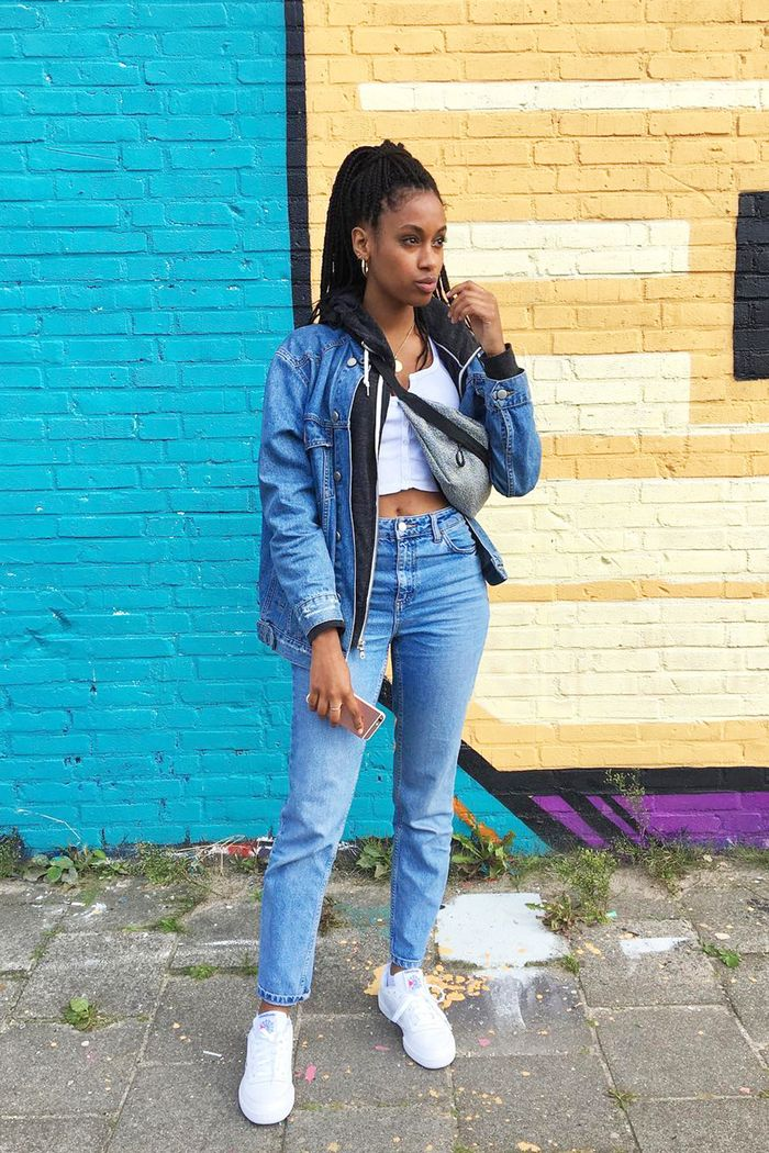 d0ab2acffa4 Jean Jacket Outfits for Spring | Who What Wear