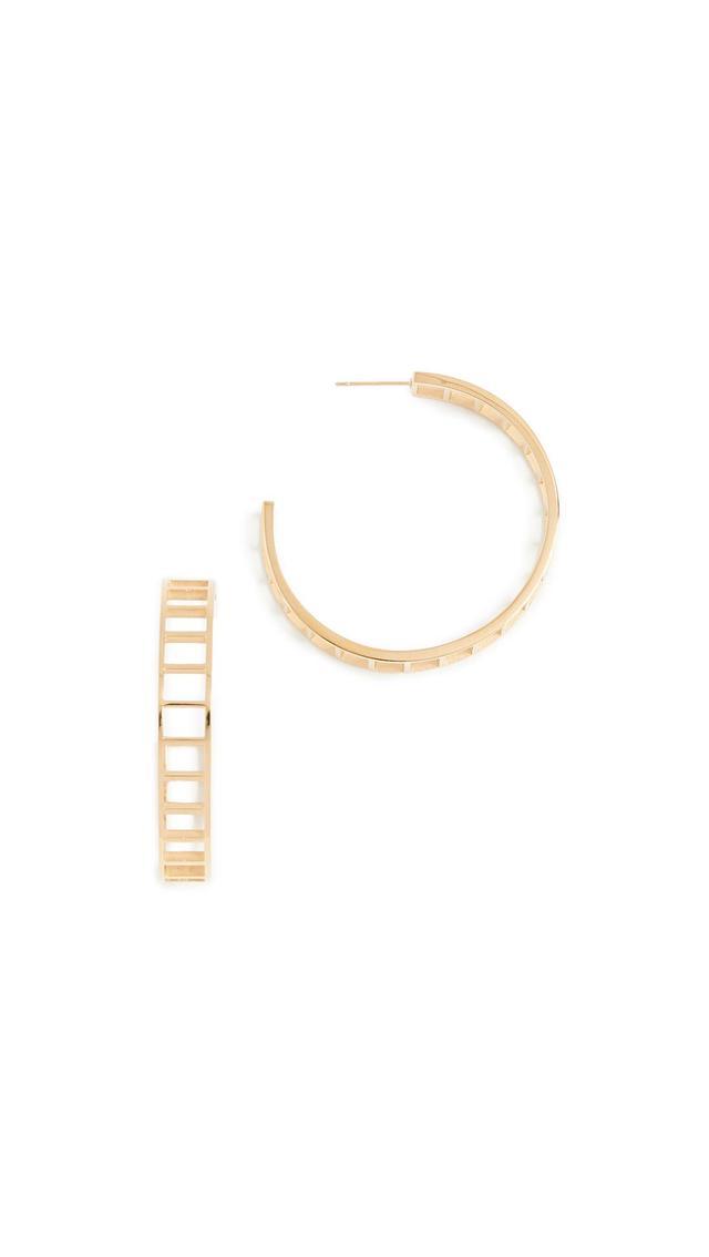 Climber Hoop Earrings