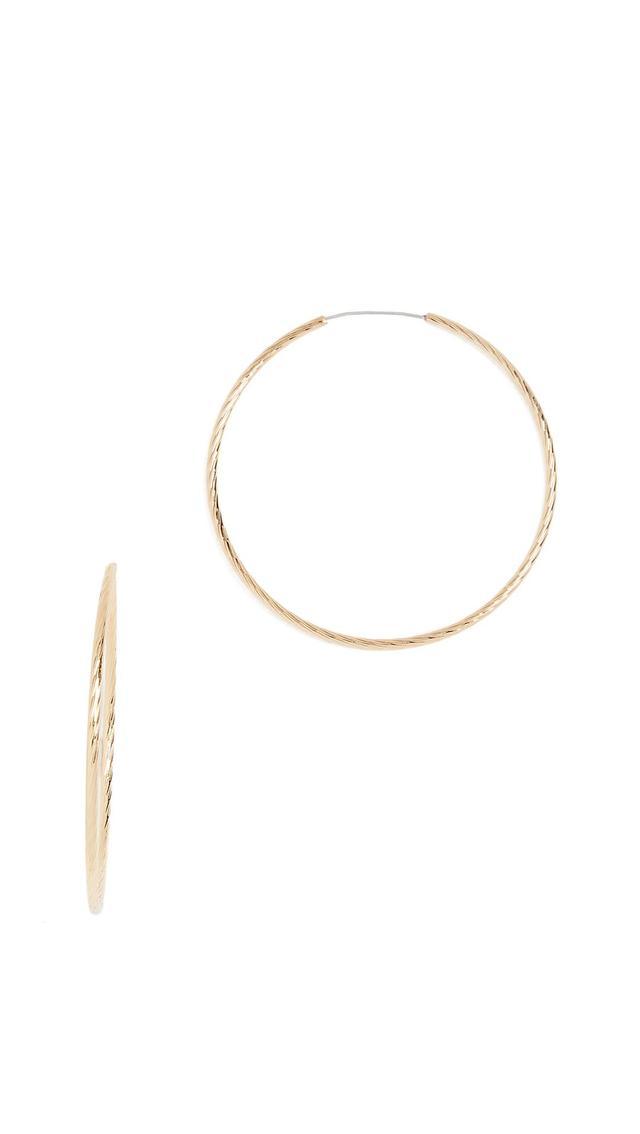 Electra Hoop Earrings