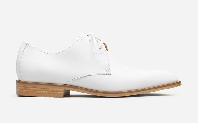Women's Oxford Shoes by Everlane in White, Size 10.5