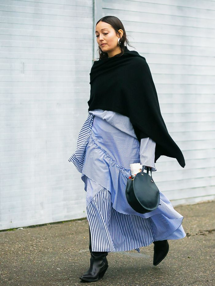 2d619c2ab Ponchos Have Suddenly Become Cool Again | Who What Wear UK