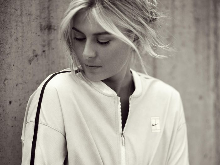 official photos 18b19 fa8ad Maria Sharapova's Nike L.A. Cortez Sneakers | Who What Wear