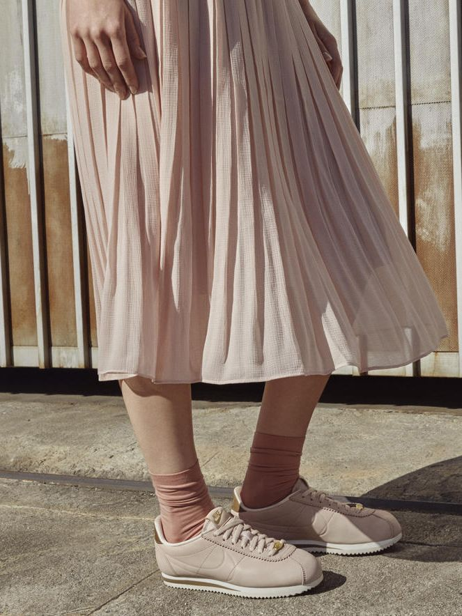 innovative design 5948c 086c7 Maria Sharapova's Nike L.A. Cortez Sneakers | Who What Wear UK
