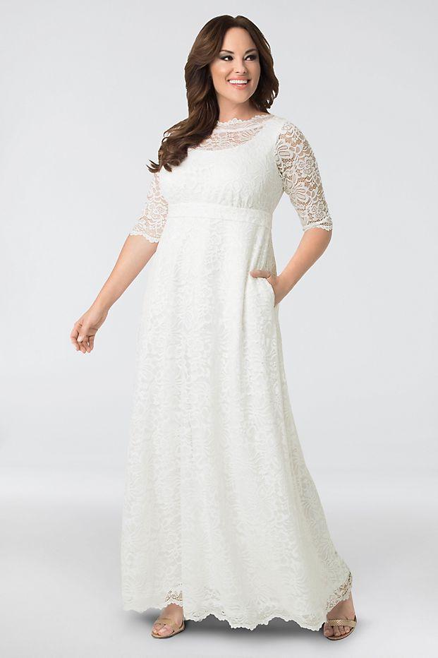 David's Bridal Sweet Serenity Wedding Gown