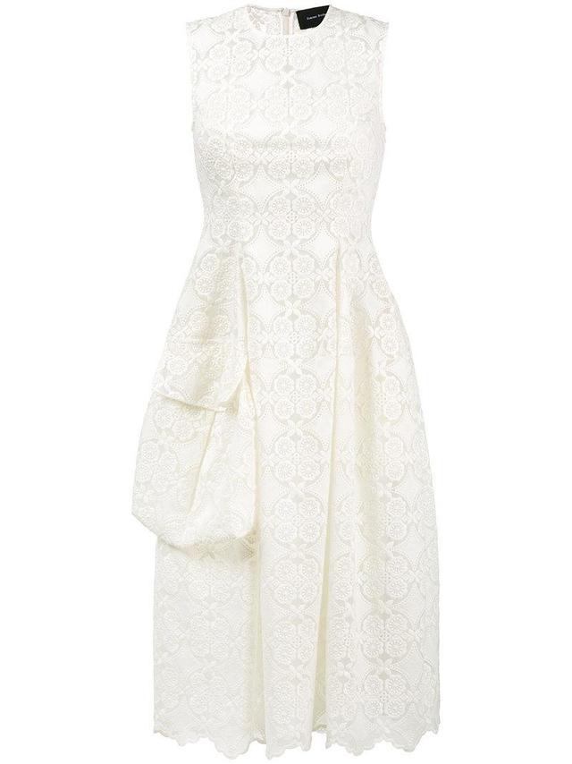 Midi-Dress With Side Pocket