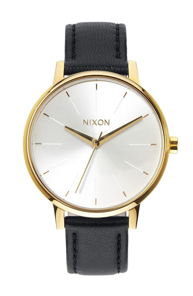 'The Kensington' Leather Strap Watch