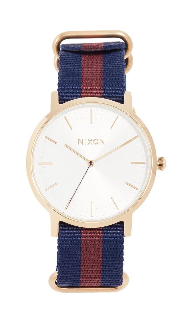Porter Nylon Watch, 40mm