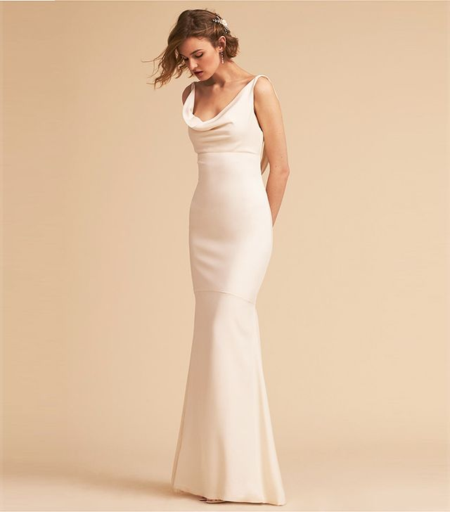 cc25ffd8ba9 20 Simple Wedding Dresses for the Minimalist Bride