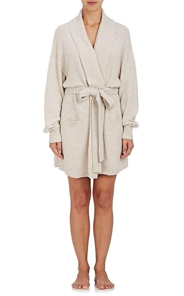 Women's Britta Cotton-Blend Bouclé Robe