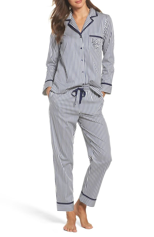 Women's Kate Spade New York Stripe Pajamas