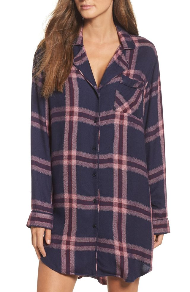 Plaid Sleep Shirt