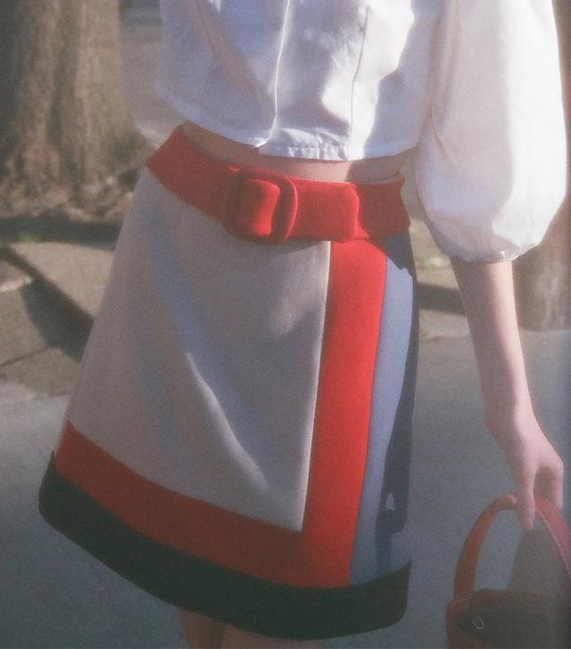 Prada Multi Color Skirt
