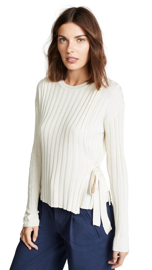 Tie Side Sweater