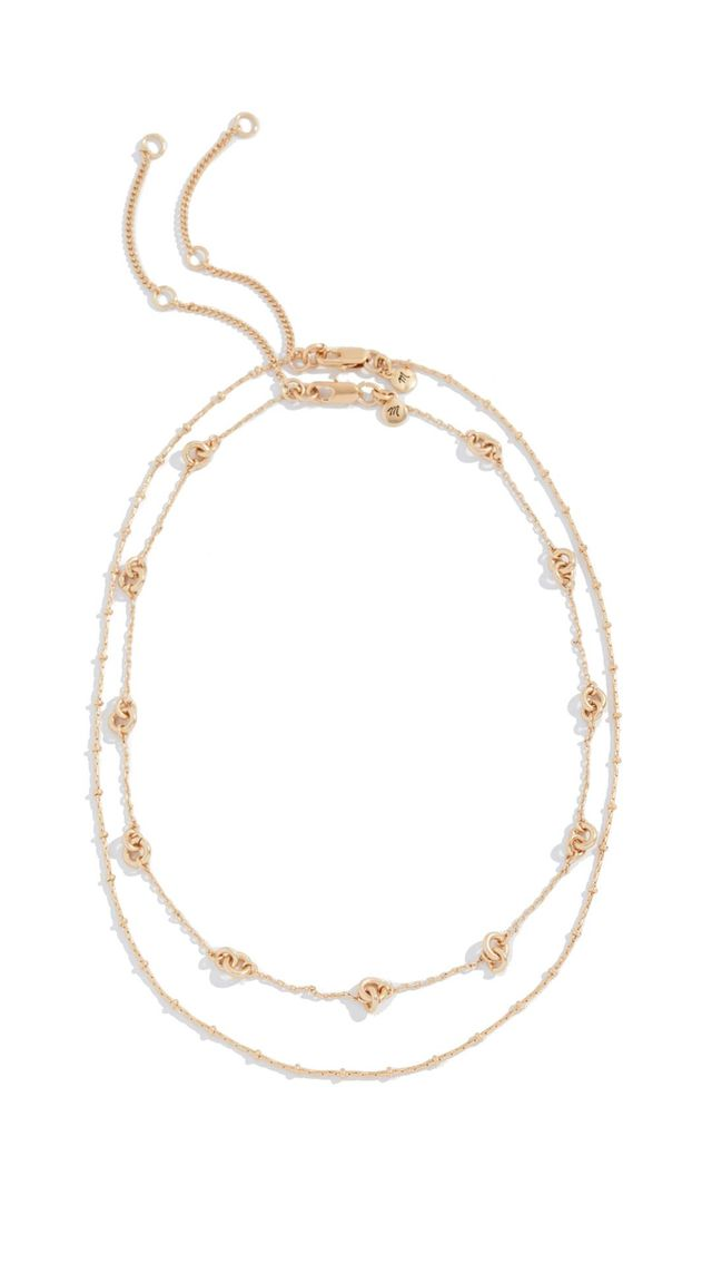 Knotted Layered Necklace