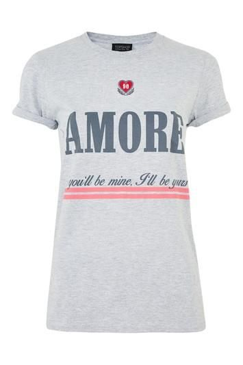 Embroidered Amour T-Shirt