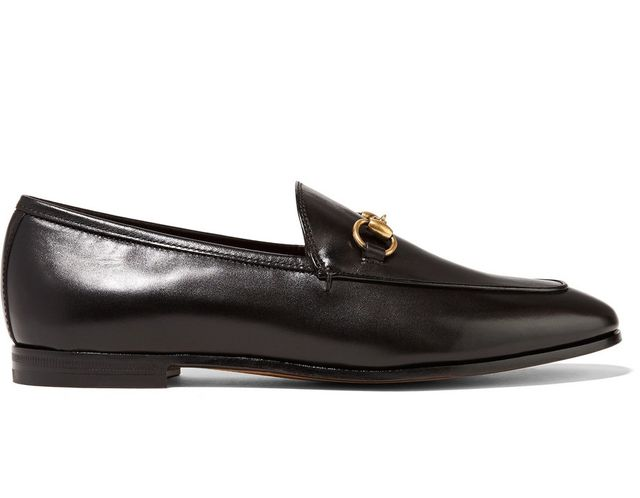 Jordaan Horsebit-detailed Leather Loafers