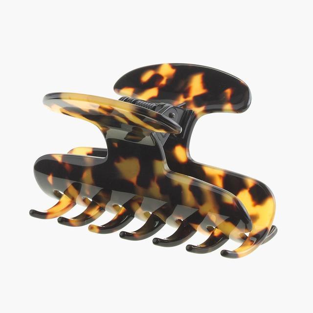 Large hair clip in Italian tortoise